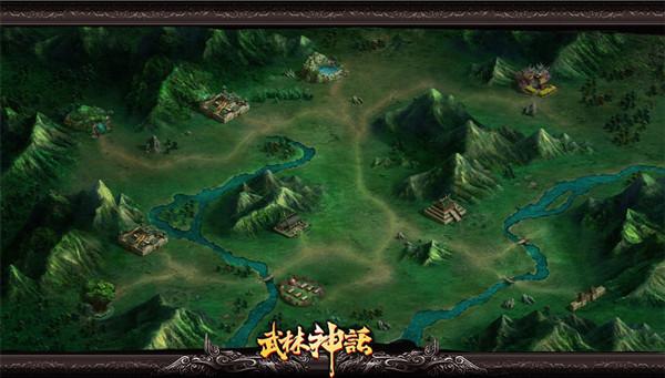 武林神话游戏场景
